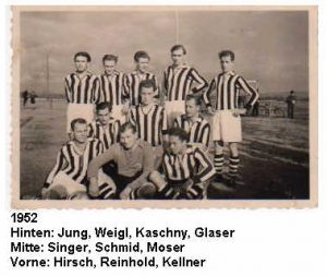1952: 1. Mannschaft