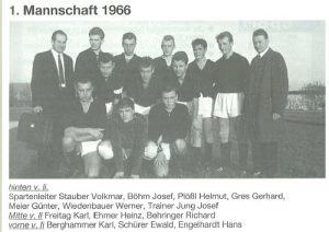 1966: 1. Mannschaft