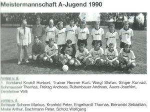 1990: A-Jugend Meister