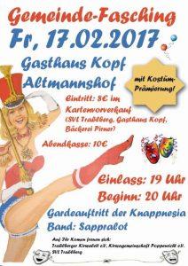 Gemeinde Faschingsball beim Kopf @ Gasthaus Kopf Altmannshof