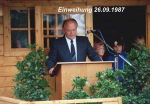 1987 Einweihung