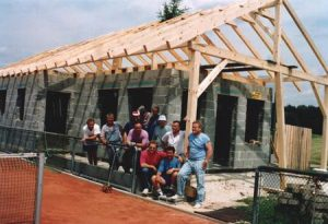 1993 Neubau Tennisheim